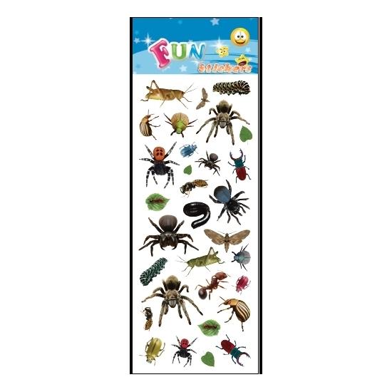 Poezie album stickers insecten Geen beste