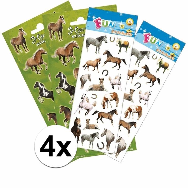 Geen School stickers pakket paarden Schoolspullen