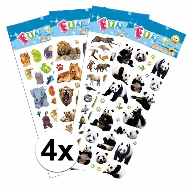 Schoolspullen Geen School stickers pakket safari thema