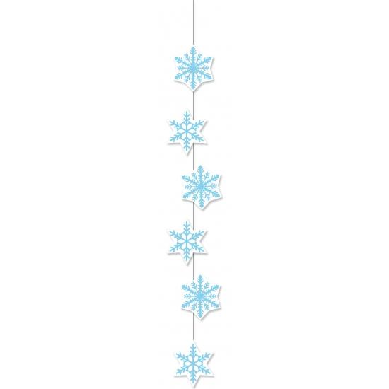 Sneeuwvlok hangdecoratie 108 cm