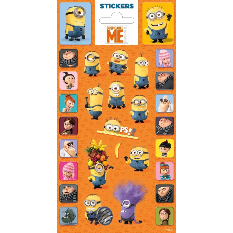 Stickers Minions Minions Schoolspullen