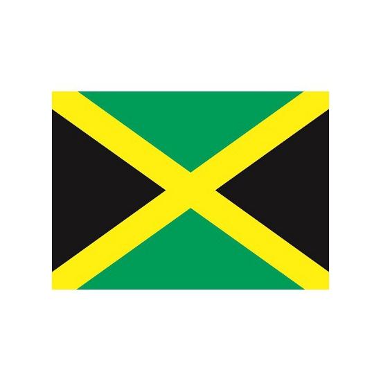 Shoppartners Stickers van de Jamaica vlag Landen versiering en vlaggen