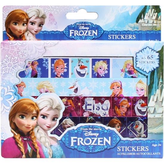 Stickervellen 4 stuks van Frozen Disney nieuw