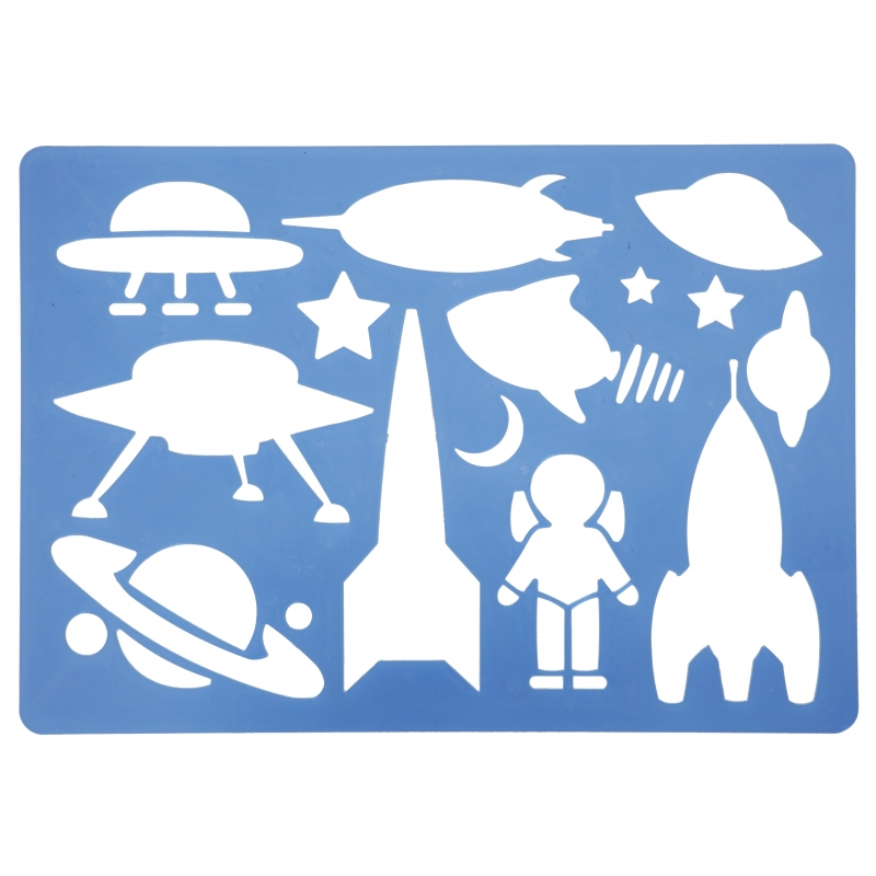 Teken sjabloon UFO