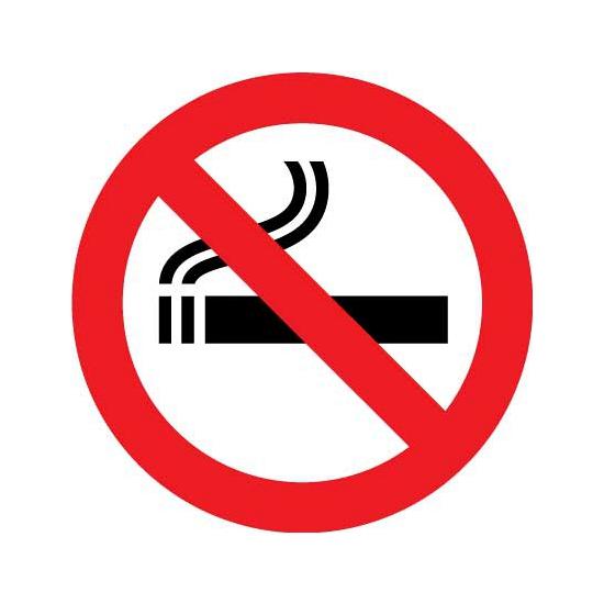 Verboden te roken sticker Shoppartners te koop