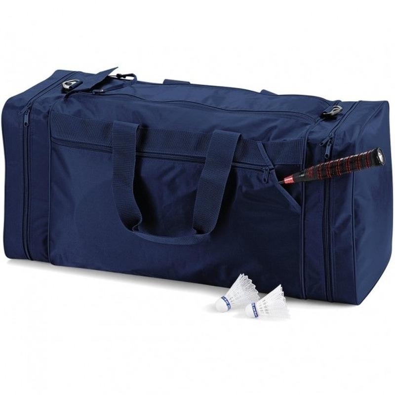 Voetbaltas marineblauw 74 liter