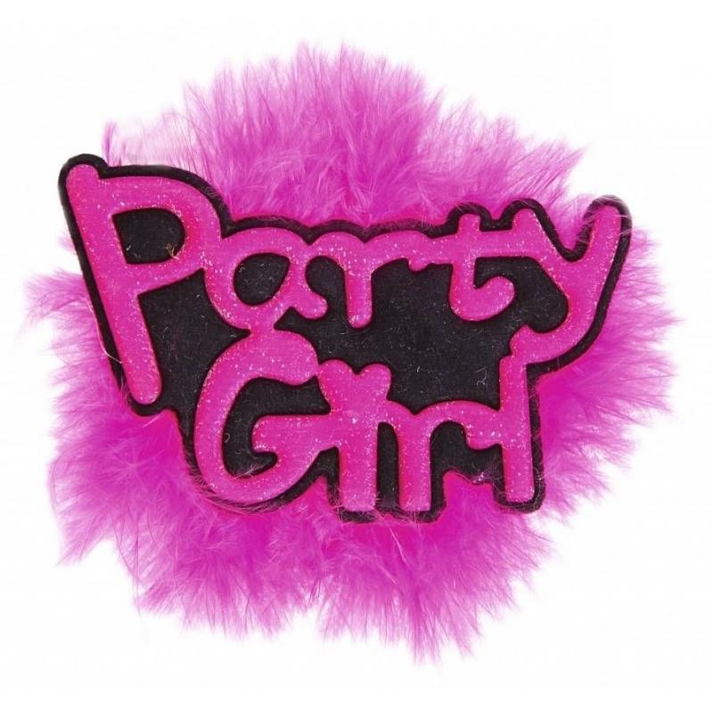 Vrijgezellenfeest pins Party Girl
