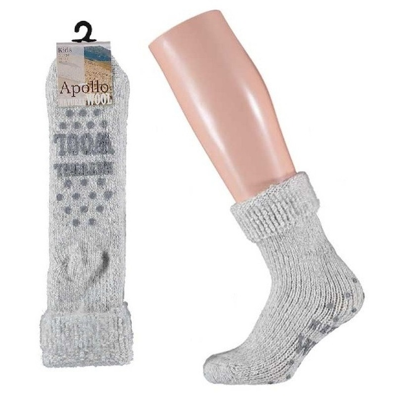 Winter sokken van wol maat 27/30 voor girls