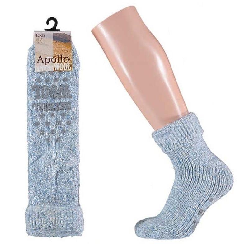 Winter sokken van wol maat 31-34 voor kids