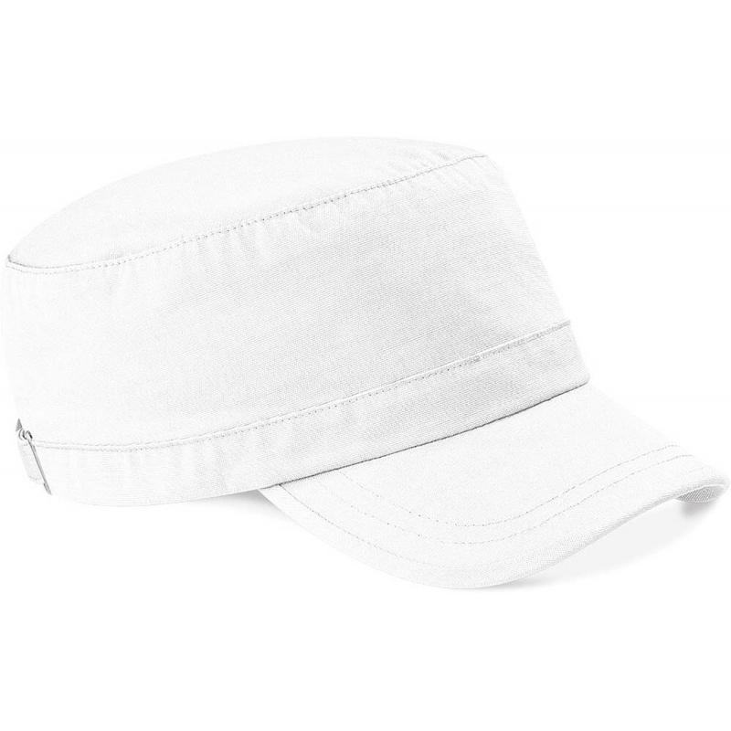 Witte leger caps van Beechfield