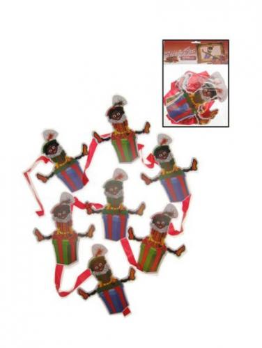 Zwarte Piet mobiel slinger
