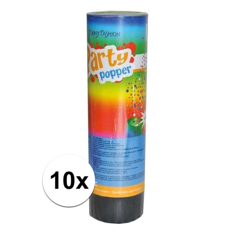 10x verjaardag party poppers