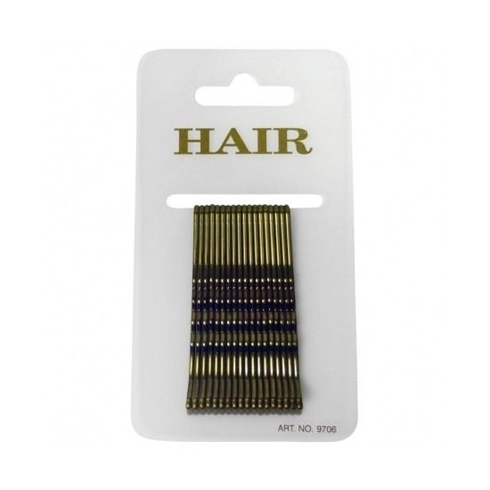 18 gouden haar schuifspeldjes 6 cm