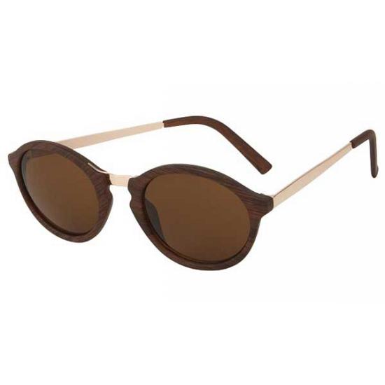 2180 bruine woodlook zonnebril
