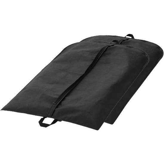 2x Colbert hoes zwart 110 x 65 cm