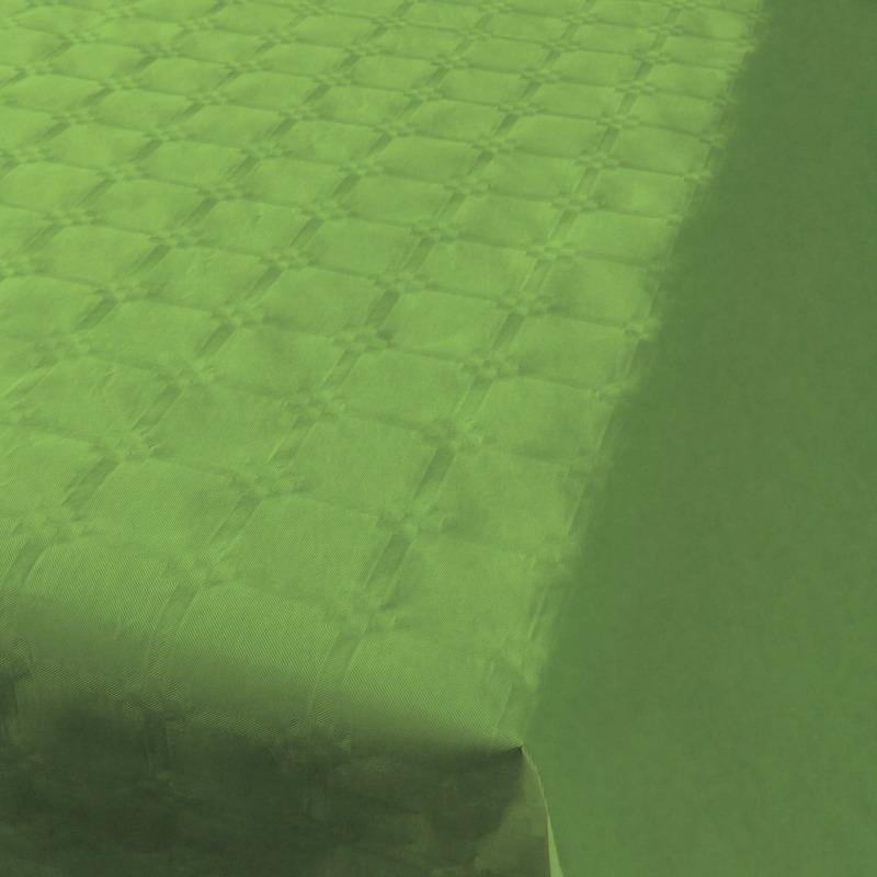 2x Feestartikelen papieren tafelkleed lichtgroen 800 x 118 cm