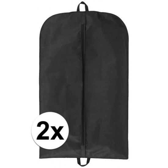 2x Kledinghoes/kledinghoezen voor op reis