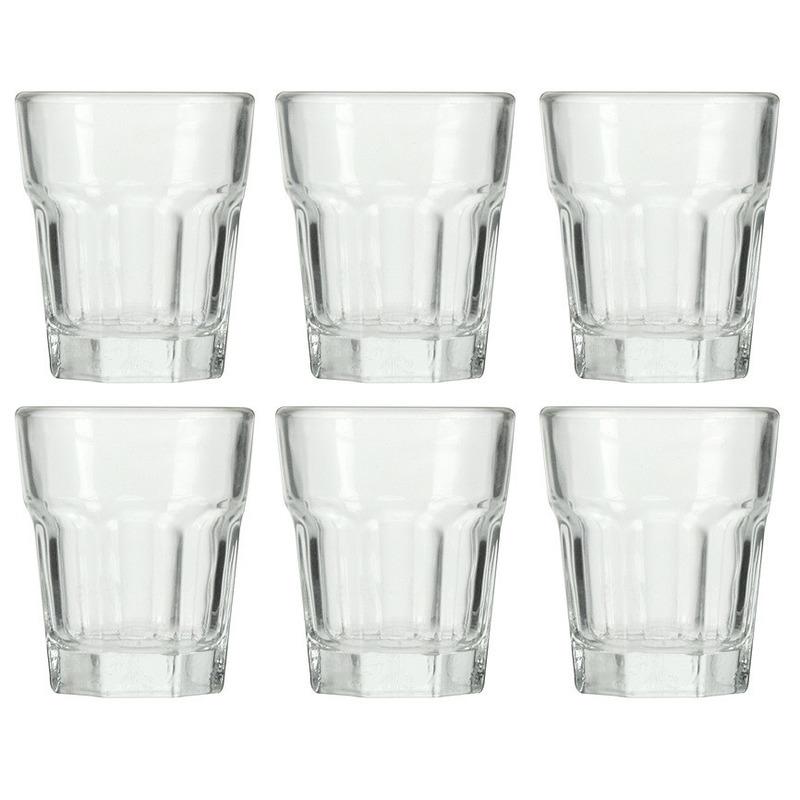 6x Amuseglas 55 ml D 4,8 x H 5,6 cm