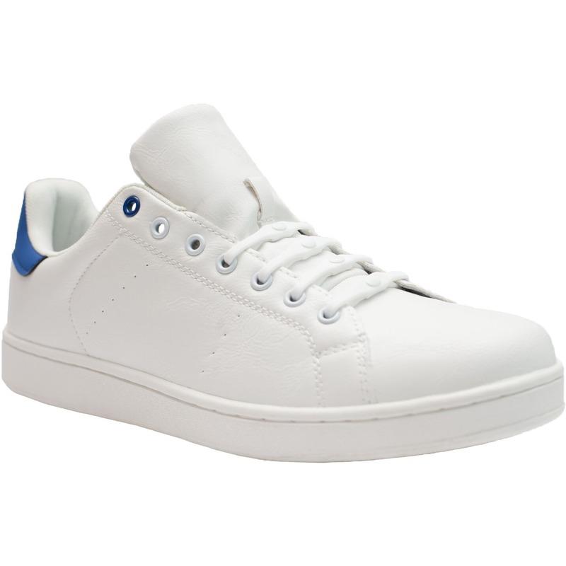 8x Veters strikken hulp witte brede elastische/elastieken schoenveters voor dames/heren