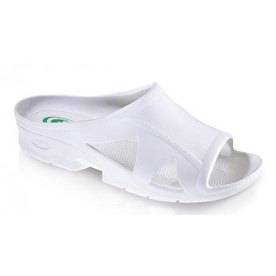 Anti-slip dames slippers wit
