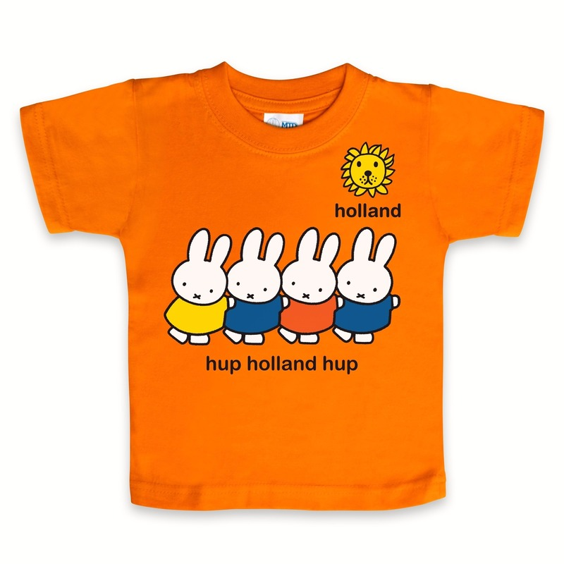 Baby t-shirt Nijntje hup holland hup