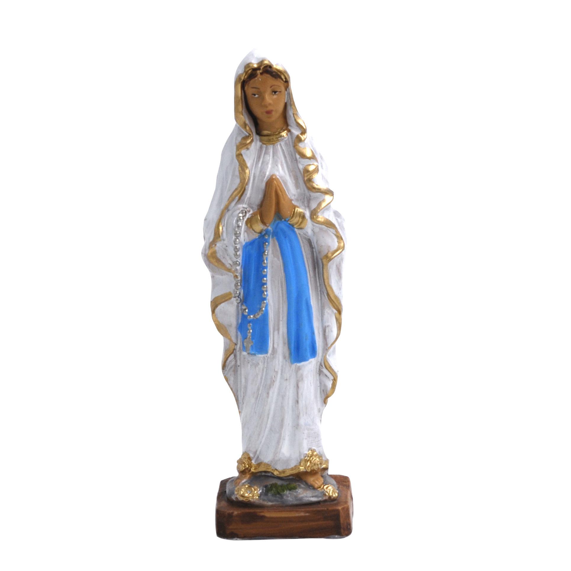 Biddende Maria beeldje 12 cm kerstbeelden