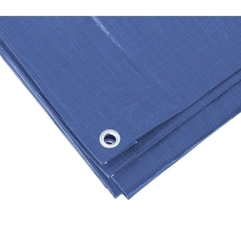 Blauw afdekzeil-dekzeil 6 x 10 meter
