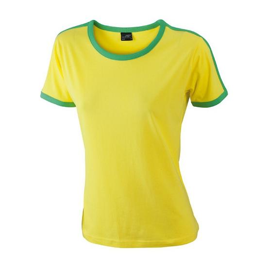 Braziliaanse kleuren shirt voor dames