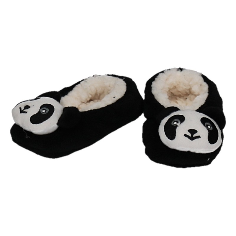 Cadeau kinderslofjes/pantoffels panda
