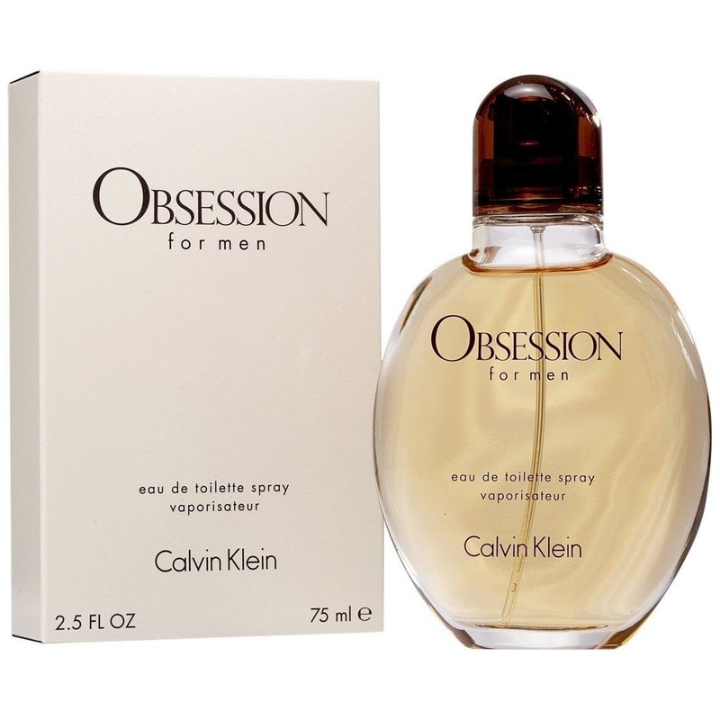 Calvin Klein Obsession for men 75 ml EDT