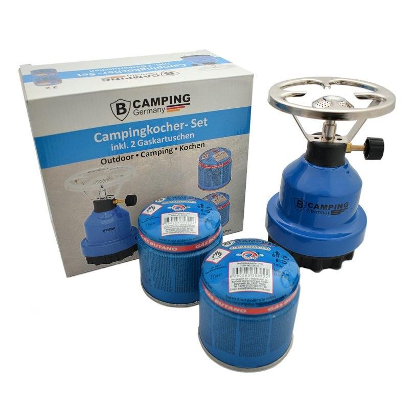 Camping kookstelletje-gasstelletje van metaal