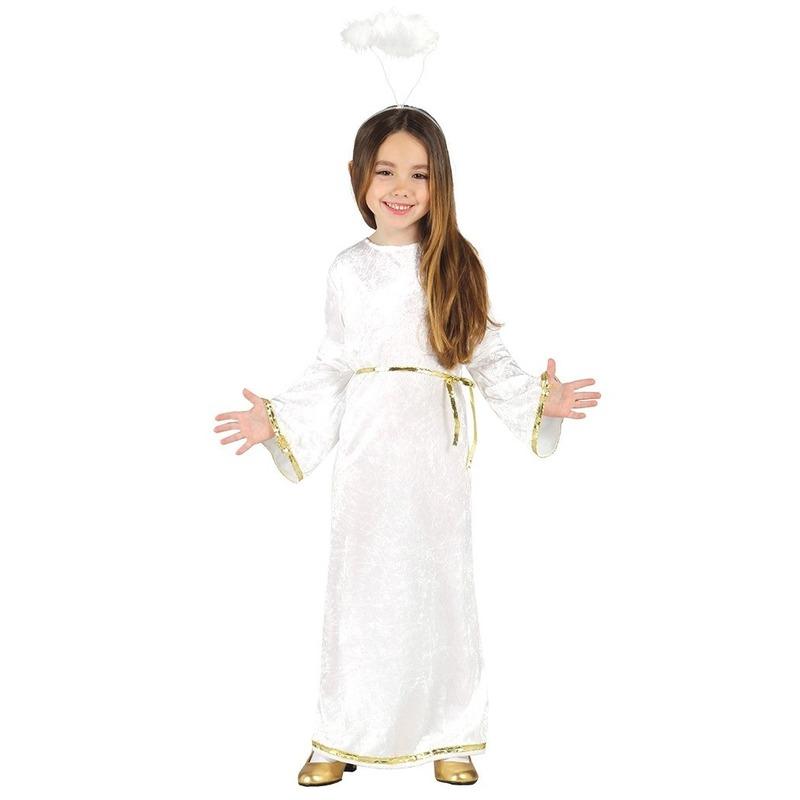 7cb53a7c842c43 Engel sariel verkleed kostuum jurk voor meisjes. deze set bestaat uit een  jurk