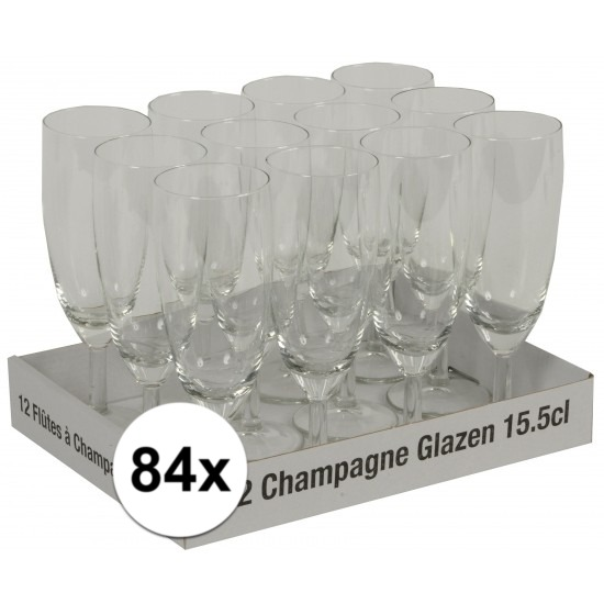 Champagne flutes tray 84 x