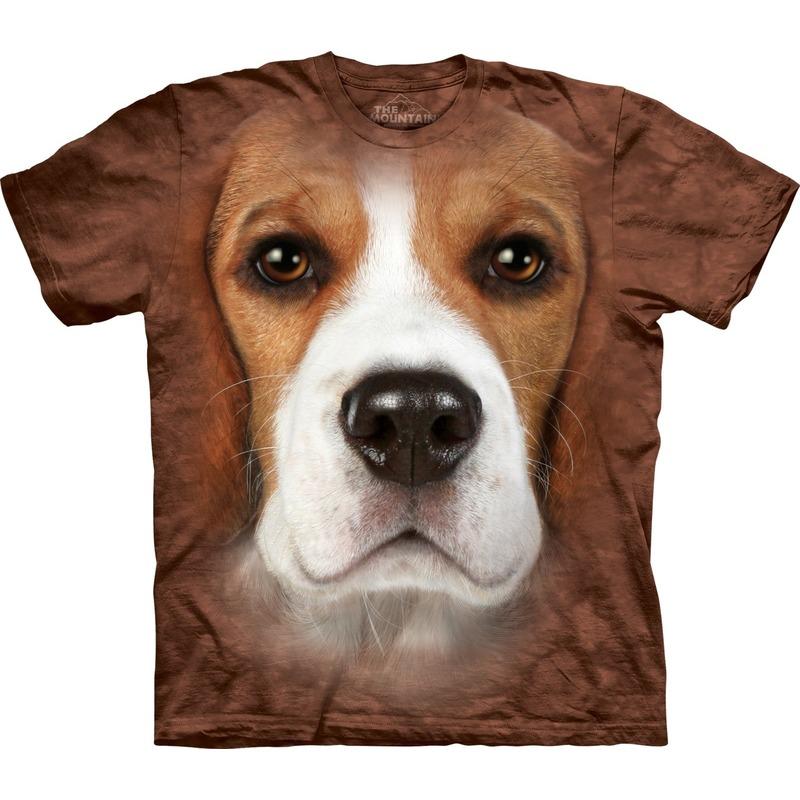 Dieren shirts Beagle hond voor volwassenen