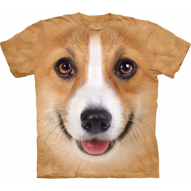 Dieren shirts Welsh Corgi Pembroke hond voor volwassenen