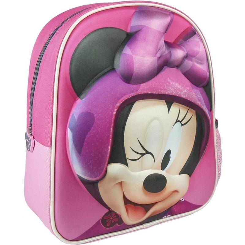 bd8c0c0661a Roze minnie mouse rugtas/rugzak elsa 25 x 31 cm voor meisjes. roze minnie