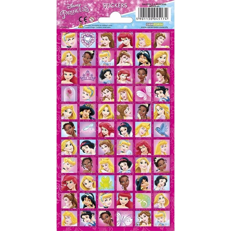 Disney princess portret stickers