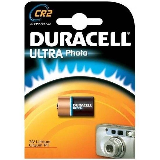 Duracell batterij Ultra Photo CR2 3 volt