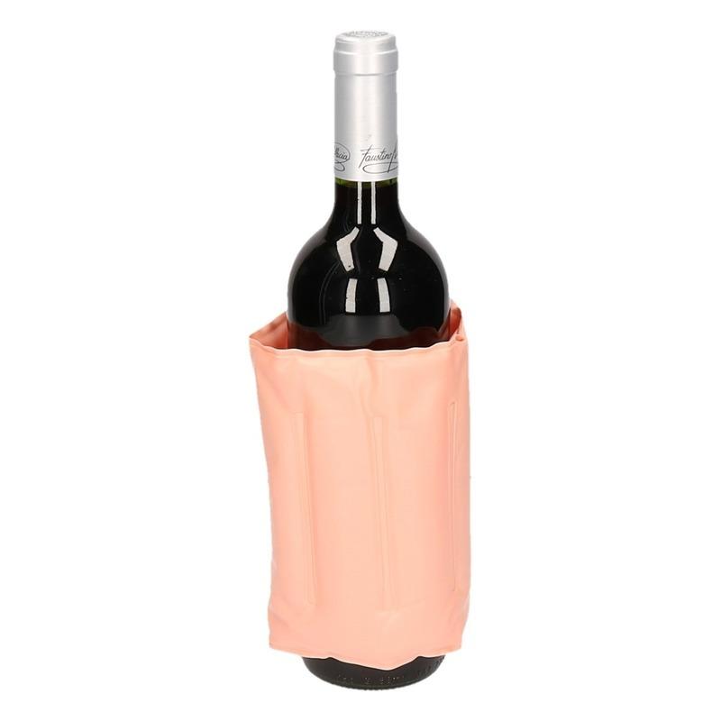 Fles koel houd hoes zalm roze