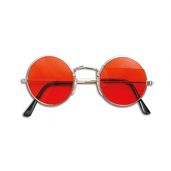 Graaf dracula bril oranje