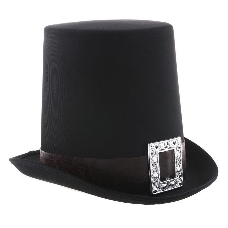 Graaf Dracula hoge hoed zwart