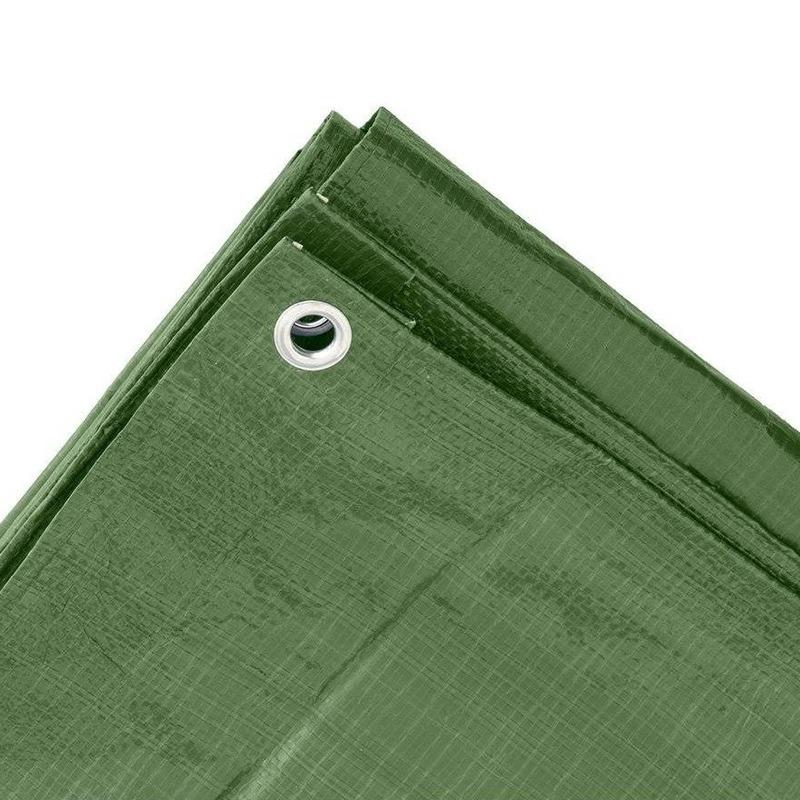 Groen afdekzeil-dekzeil 4 x 6 meter