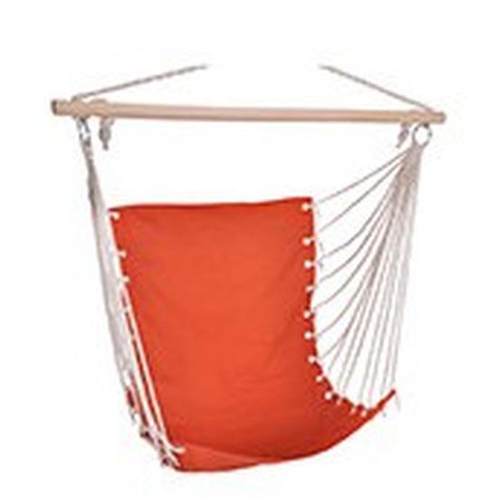Hangstoel-hangende stoel oranje 100 x 60 cm