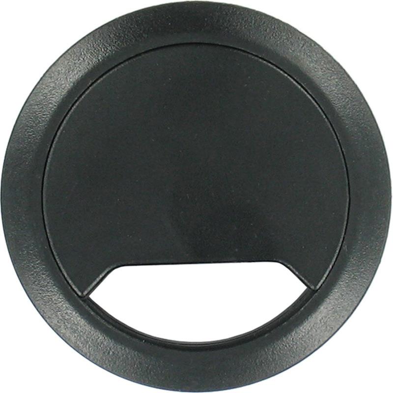Kabeldoorvoer zwart 80 mm