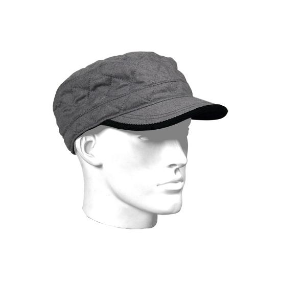 Katoenen rebel cap grijs met voering