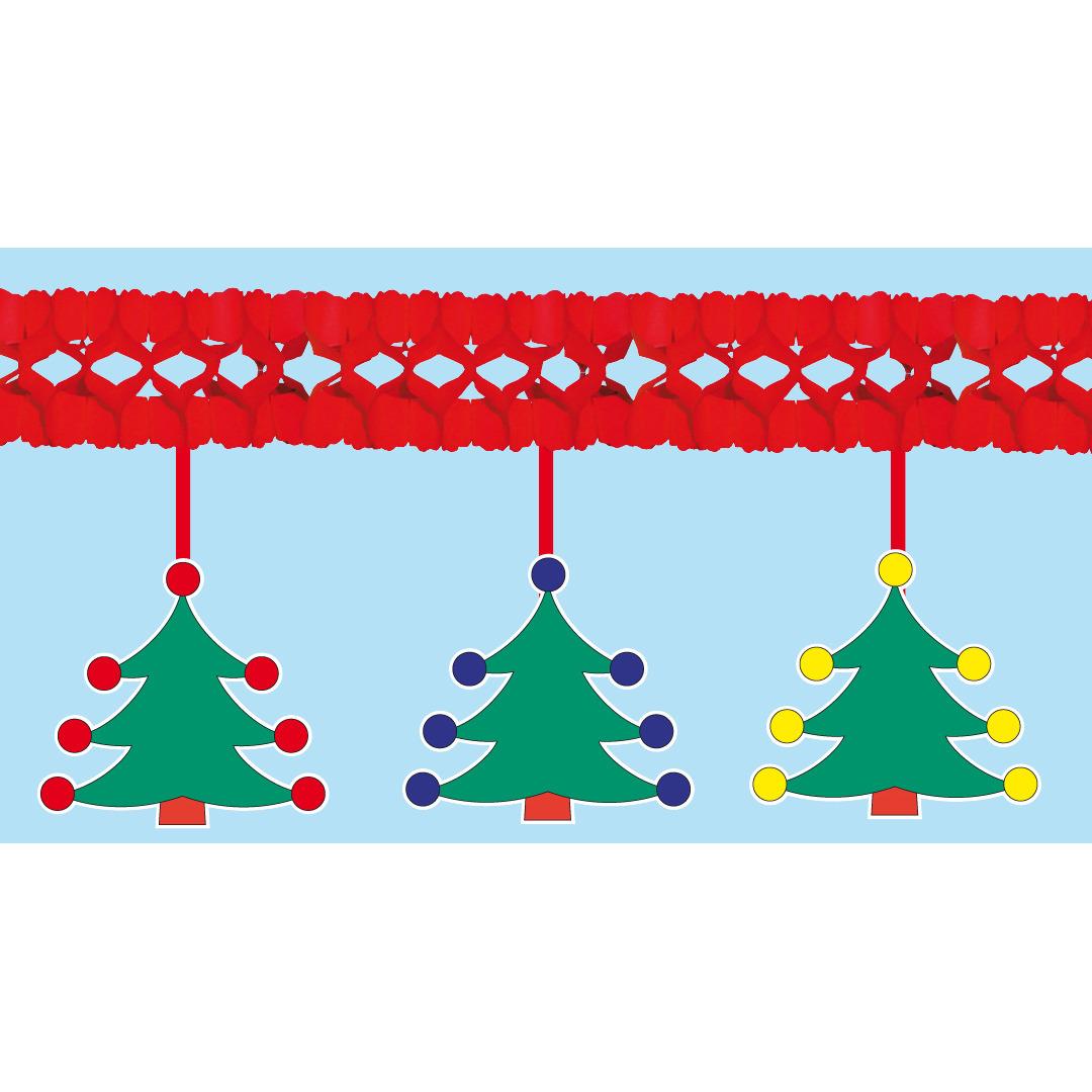 Kerstboom kerstslinger 4 meter