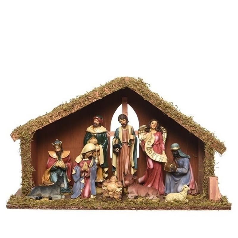 Kerststallen inclusief kerstfiguren 51 cm