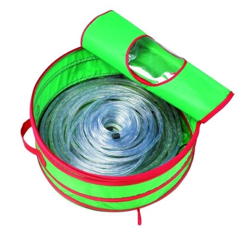Kerstverlichting opruimen tas voor een lichtslang 45 cm
