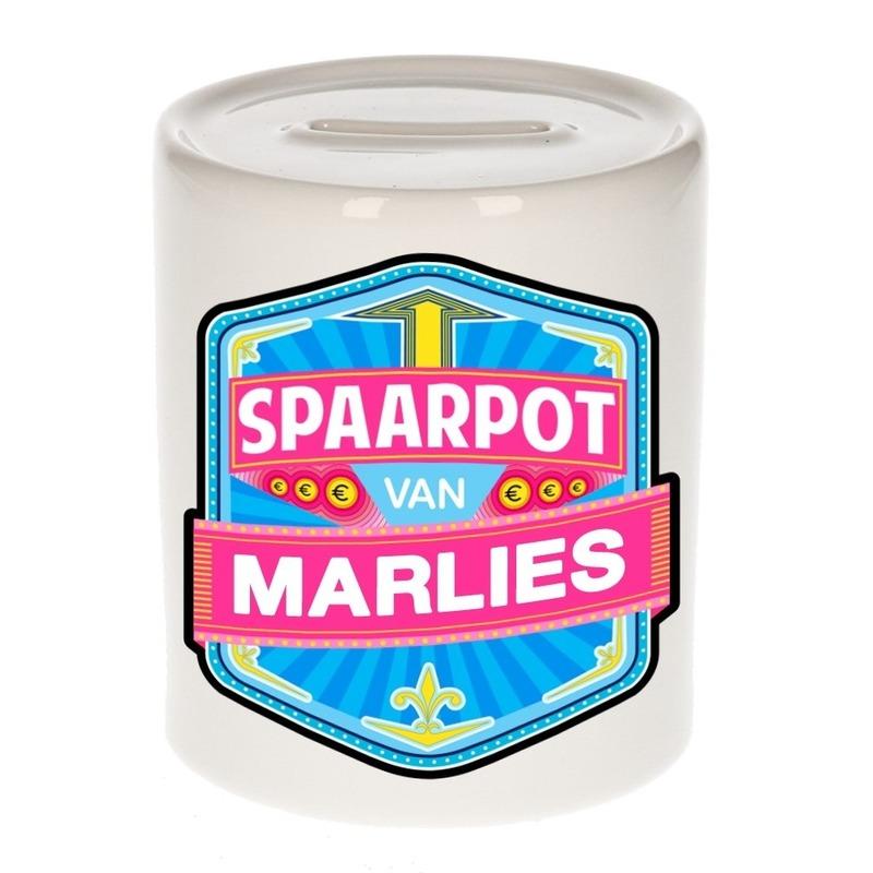 Kinder spaarpot keramiek van Marlies