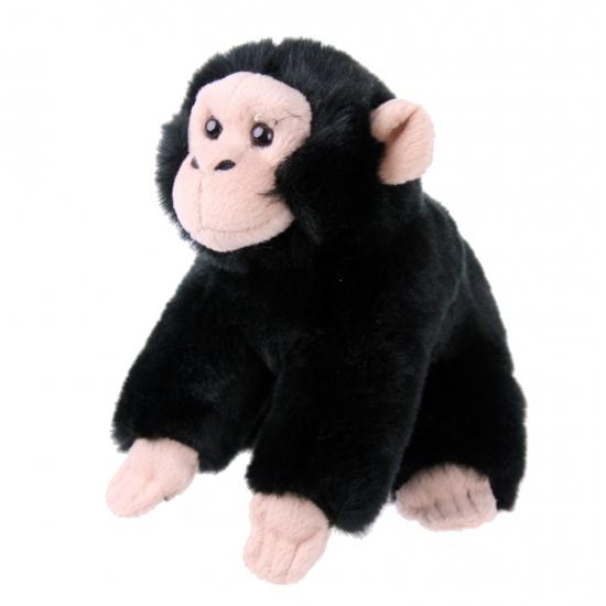 021fbe3252797e Pluche baby chimpansee. zachte leuke knuffel chimpansee. ongeveer 18 cm.
